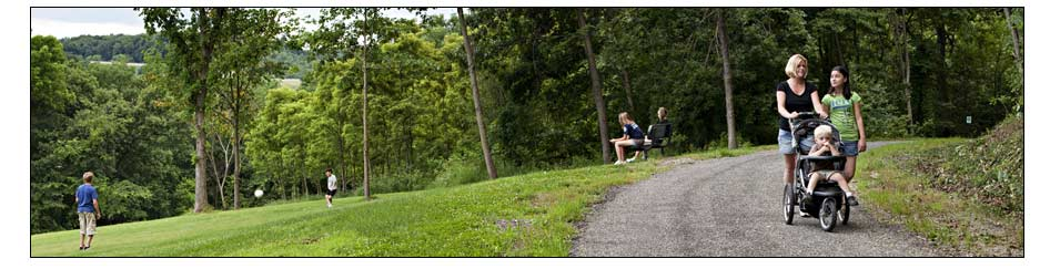 Brighton Township offers many parks and recreation activities. Photo: Copyright © 2009 Emmanuel Panagiotakis.